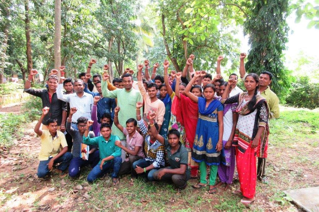 Farmers' activists in Odisha, India